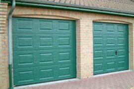 Porte de garage S200 Vert