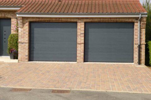 Porte de garage Double S300 Anthracite